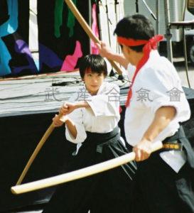 武産合氣會 二刀で一刀を制する 合気道 剣術